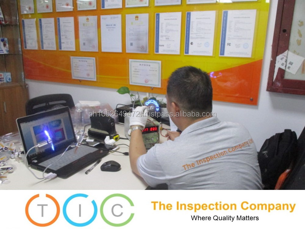 Consumer Electronics Third Party Inspection in China / Quality Control Services
