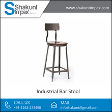Top Selling, High Quality Wood Made Industrial Bar Stool for Sale