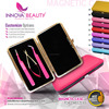 Hot Pink Lash Tweezers in a Magnetic Case with Wholesale discounted prices/ Volume Lash Tweezers with Private Label