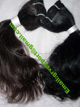 "Top quality 14"" deep wave Malaysian virgin human hair weft"