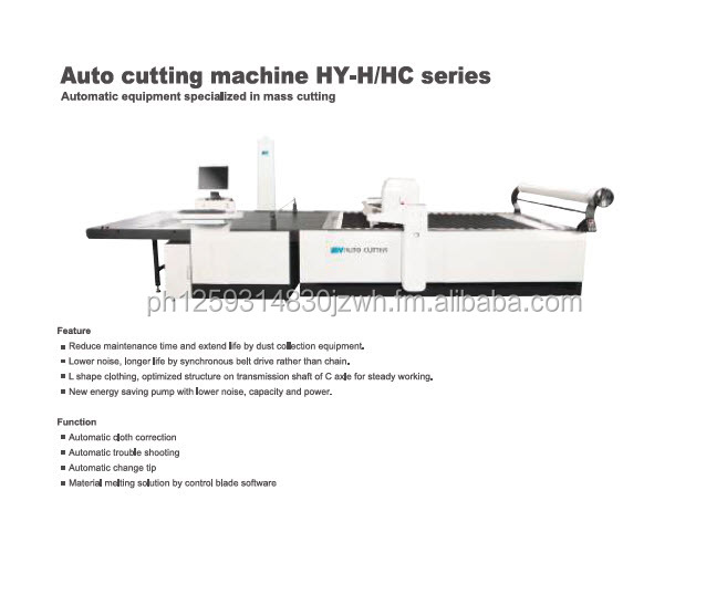 Plotter, Automatic Spreader and Cutter for the Garments Manufacturing Industry in Asia