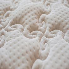 Tear Resistant 100% Polyester Mattress Ticking Warp Knitted Fabric