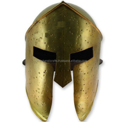 Medieval 300 Movie Spartan Helmet Ancient Medieval Armour Helmet CHMH30006