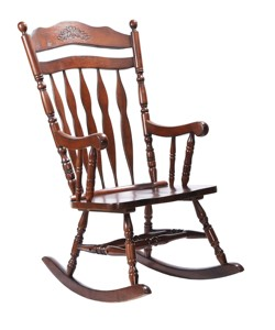 Adult Classic Solid Wood W660 x D830 x H1100 MM Rocking Chair Malaysia