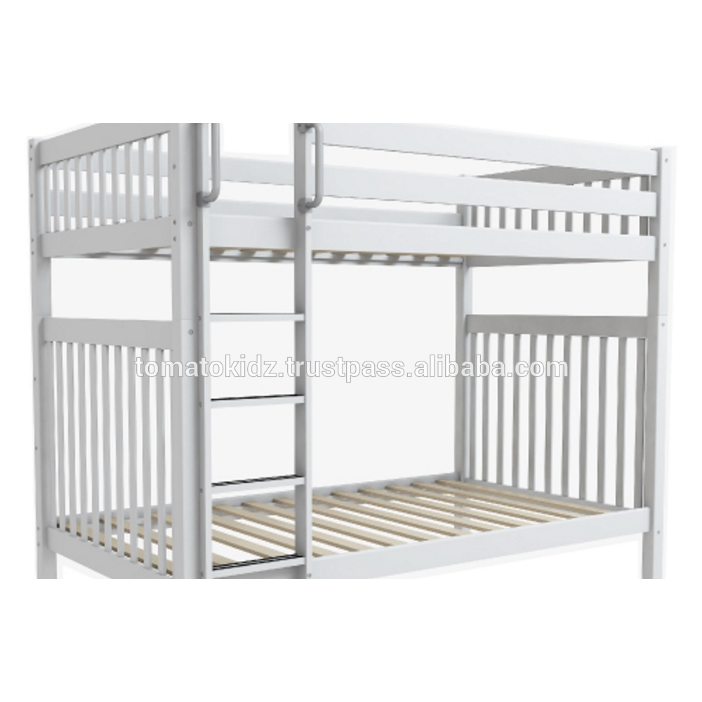 Youth Bunk Bed Wooden Separable Bunk Bed Bedroom Furniture for Kids and Teens