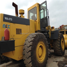 Perfect condition used/secondhand komatsu wa470-6/470-7/470-8 wheel loader sale in Shanghai