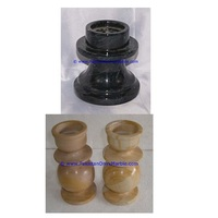 Wedding Favors marble candle holders column pillar pedestal stands tea lights