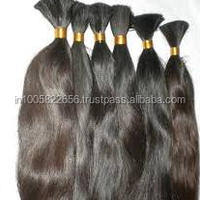 Remy Virgin Bulk Natural Human Hair