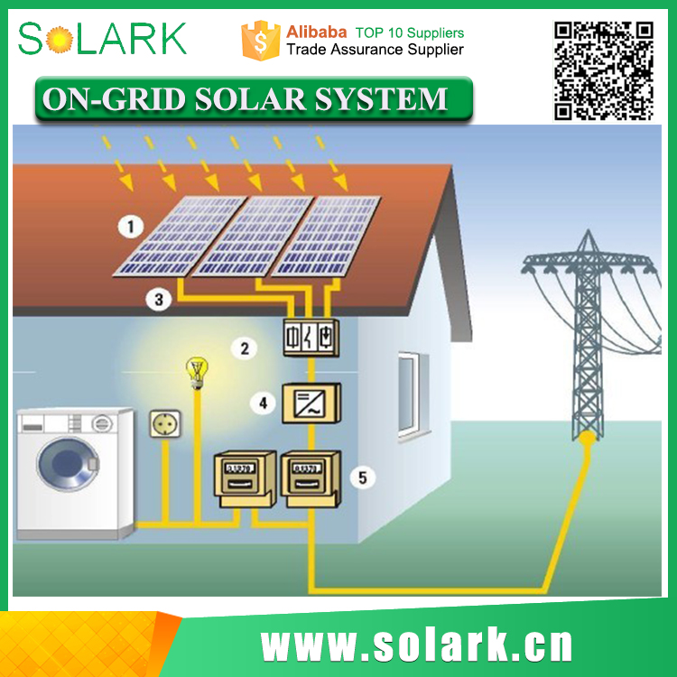 5KW On-Grid Solar Power System for Household in Philippines