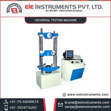 Superior Strength, Long Working Life Universal Testing Machine for Chemical Laboratories