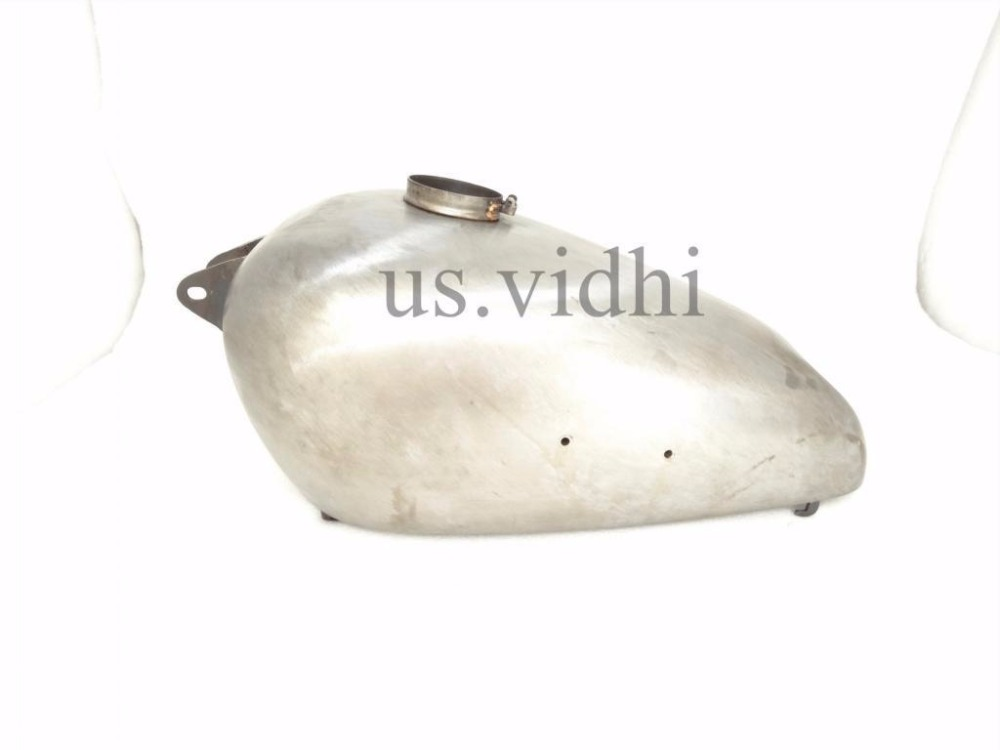 "NEW BSA M20 ""MILITARY MODEL"" RAW STEEL PETROL/FUEL TANK"
