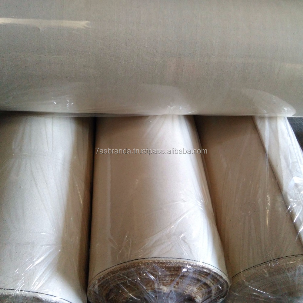 100% Cotton Canvas Fabric Manufacturers