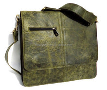 Real Leather Hand Made Laptop Messenger Bag's For Men