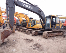 Used Excavator Volvo Model EC210B excellent quality for sale EC210Blc