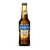 Bavaria Malt Peach flavor (0%Alc) Beer 24x33cl BOTTLE