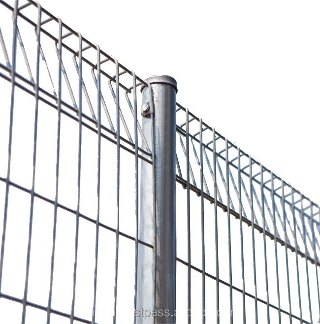 ISO Standard Galvanized Steel Roll Top Security Fencing