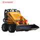 23 HP Bobcat skid steer loader with various attachments