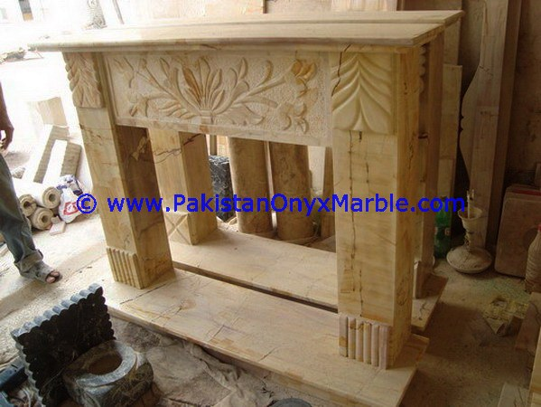 EXCLUSIVE MARBLE FIREPLACES BLACK AND GOLD,MULTI STONE, TEAKWOOD BURMATEAK