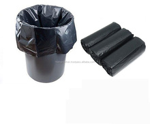 Black LDPE plastic garbage bags for living