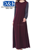 Manufacturing Price Premium Quality Top Selling Latest Design Women Ladies Muslim Islamic Elegant Jubah Abaya Dress