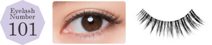 Decorative Eyelash Wink Artificial Eyelashes Made in Japan