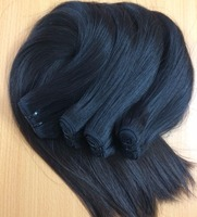 Silky straight wave Vietnam 100% human hair extension hair weave 14 inches from Ivirgohair