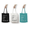 Small MOQ 100% Cotton Canvas Tote Bag Customized 2018