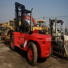 20ton TOYOTA used diesel 5FDN200 2014 ysae hand forklift for sale