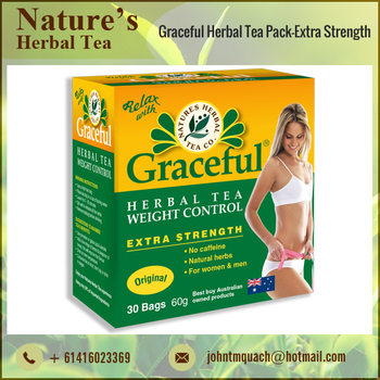 Caffeine/ Impurities Free 100% Weight Loss Natural Herbal Slimming Tea
