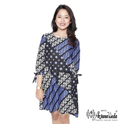 Casual Dress Indonesia Woman Batik Arjunaweda-Parang Bintang