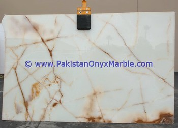 BEST QUALITY FACTORY PRICE PURE WHITE ONYX SLABS COLLECTION