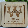 Engraved coaster sets | cheap wooden coasters | custom wood coaster