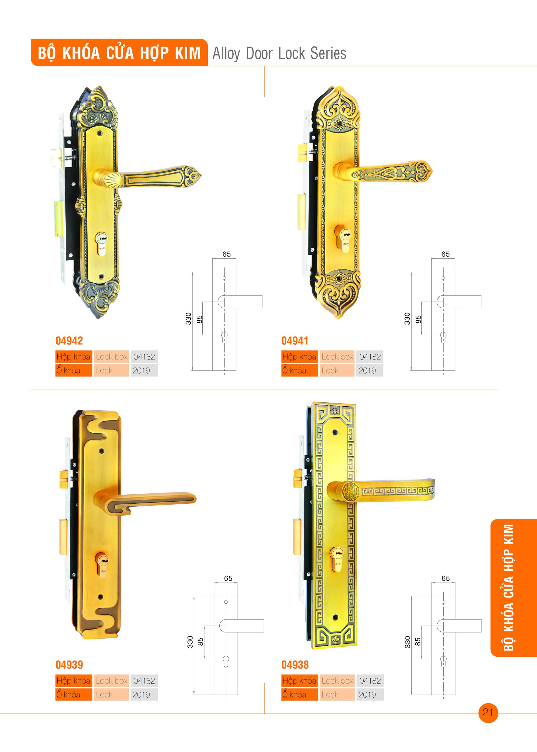 Alloy Door Lock Series