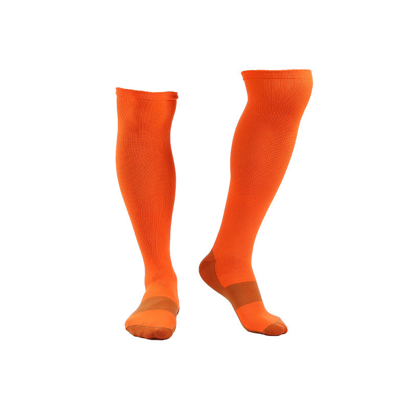 YLW0011 Knee High Socks Running Sports Compression Socks 20-30mmhg