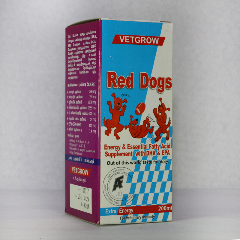 Nutritional supplement for dogs and cats