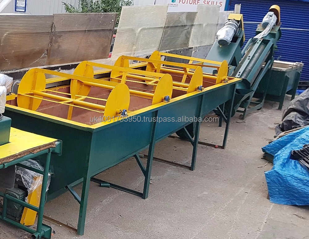 Flakes/shred & waste washed recycling plant line machine