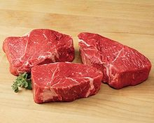 Beef Angus Top Sirloin Center Cut All Natural Never/Ever No Added Hormones No Added Antibiotics USDA Choice