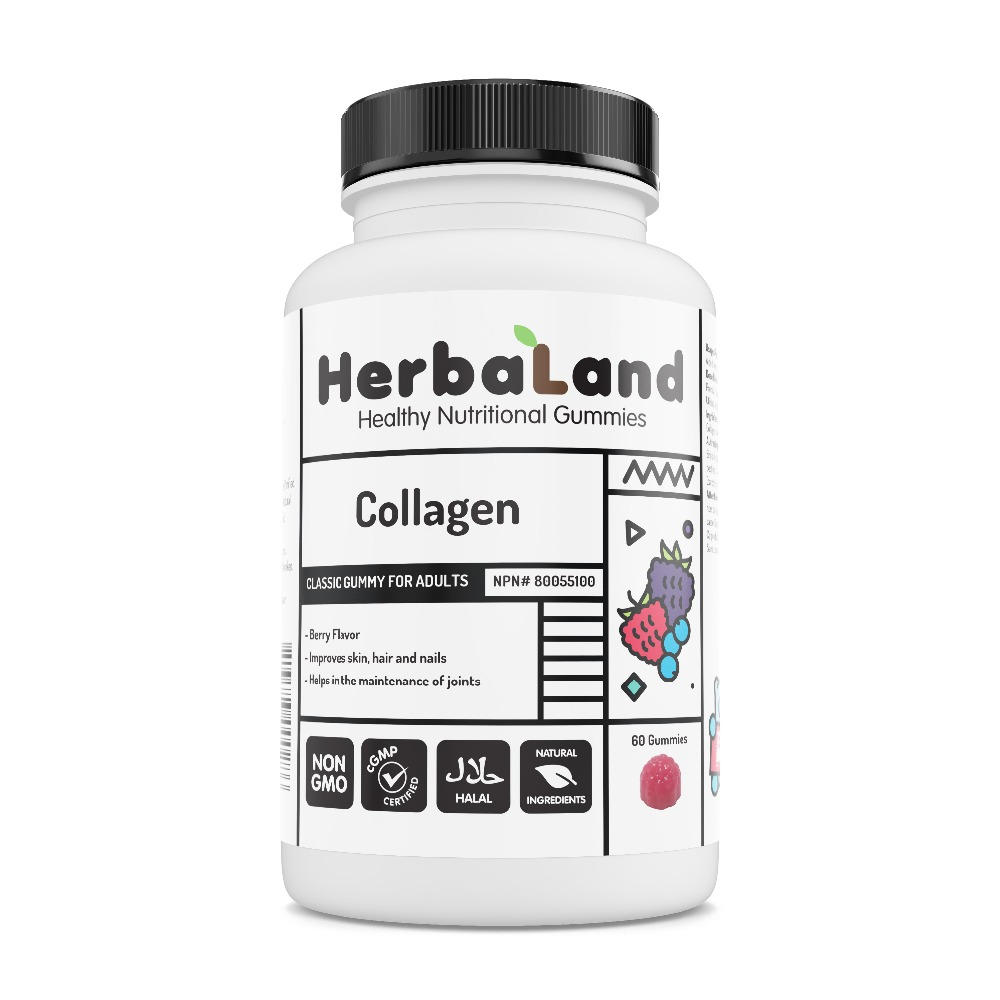 Herbaland Collagen gummy supplements