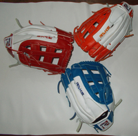 Custom Profession Kip Leather Baseball Catching Gloves for adult