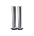 OLYMPUS+ Double Undersink Water Filter for Hardness Removal - System Stainless Steel