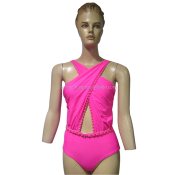 Knitted hot sexy Embroidered Bikini for womens available in different colors