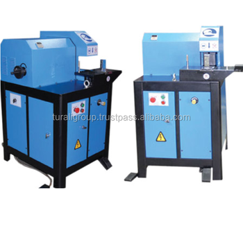 Hydraulic hose cutting machine