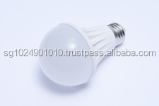 Aluminium Plastic 560lm E27 7W LED Bulb,Led bulbs A60, high lumen 7W led bulbs A60