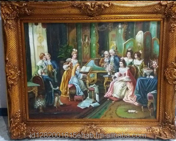 Medium to Large Classical Renaissance Paintings for Decoration