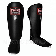 Twins Special Muay Thai Training and Competition Shin Guard MMA Kick Boxing