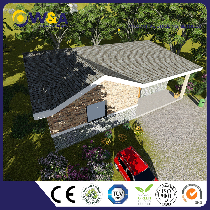 (WAS2505-95M-A)Prefabricated Residential Homes/Light Steel Villas House With Customized Size