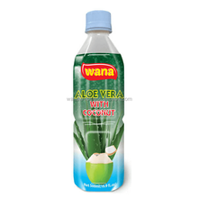 Pure Aloe Vera Soft Drink With Coconut Flavor in PET Bottle 500ml