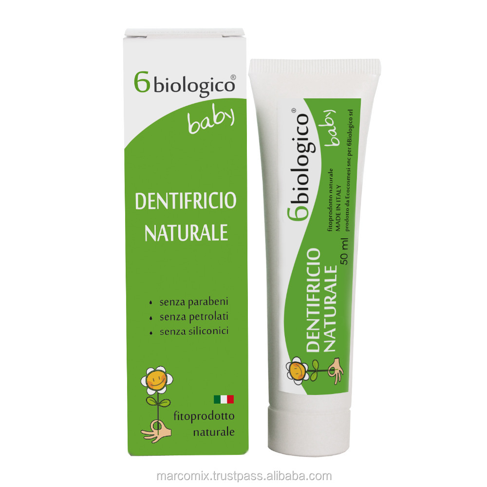 Anti Cavity and Antibacterial Herbal Baby Toothpaste