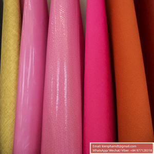 PVC synthetic leather for bag, PVC Artificial Leather luggage material