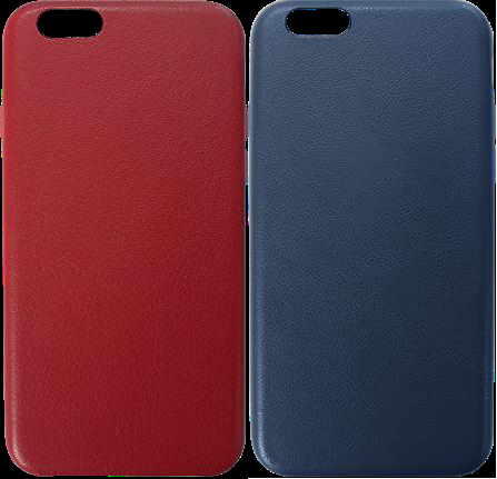 "SLIM FIT, NATURAL FEEL ""REAL LEATHER"" PHONE CASE"